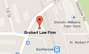 Map to Grobart Law Firm